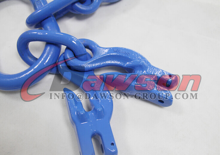 G100 Master Link Assembly with 4 G100 Eye Grab Hook with Clevis Attachment for Adjust Chain Length - China Factory Dawson