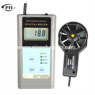 portable low cost marine ultrasonic anemometer measuring wind speed and direction