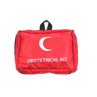 Small Red Emergency First Aid Bag Convenient To Carry with Handle Home Or Outdoor