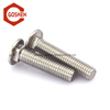 Metric Round Head thin Square Neck Polished Stainless Steel Carriage Bolts