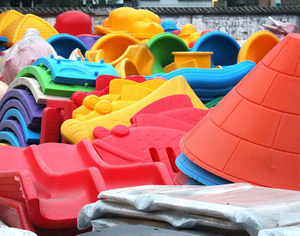 Plastic Parts of indoor playground