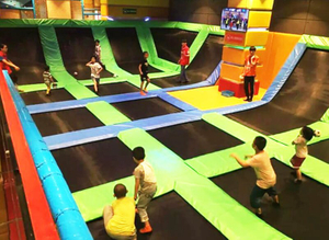 Trampoline of kids soft Indoor playground