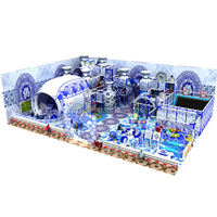 Porcelain Themed Amusement Park Soft Children Indoor Playground