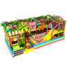 Candy Themed Soft Kids Indoor Playground with Ball Pit and Trampoline