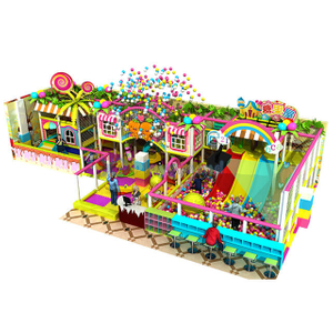 Candy Land Theme Soft Foam Kids Indoor Playground Equipment