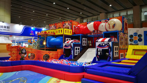 China Theme Indoor Playground
