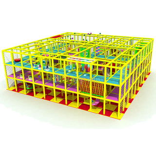 Custom Design Amusement Park Soft Foam Padded Play Structure
