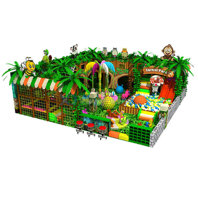 Jungle Theme Amusement Indoor Soft Play Park for Kids
