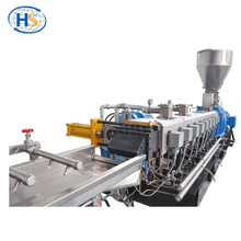 Automatic Strand Pelletizing Twin Screw Extruder for PET Bottle Recycling