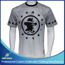 Custom Sublimation Boy's Lacrosse Short Sleeve Shooting Shirt