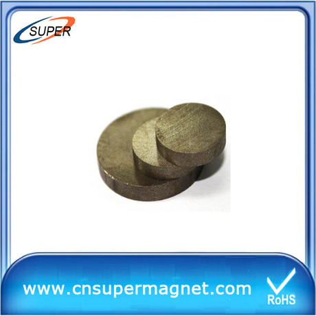 Promotional D15*6mm Disc magnets SmCo