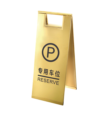 Titanium color sign stand (ZP-86E)