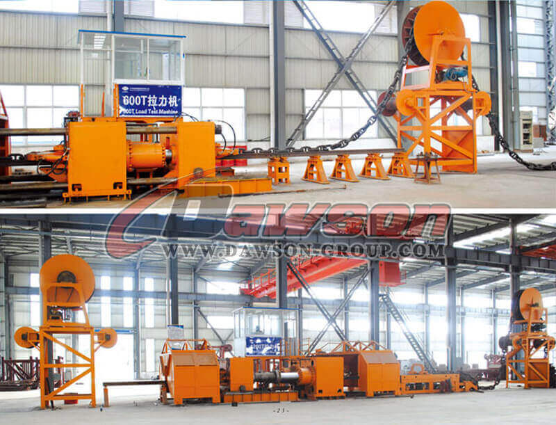Load Test Machine 600T C Shaped Connecting Shackle for Oil Platform Mooring Chain