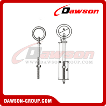 Ringbolts Commercial Pattern With Nut And Washer