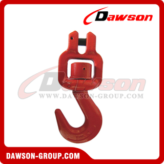 G80 / Grade 80 Clevis Swivel Hook for Chain Slings