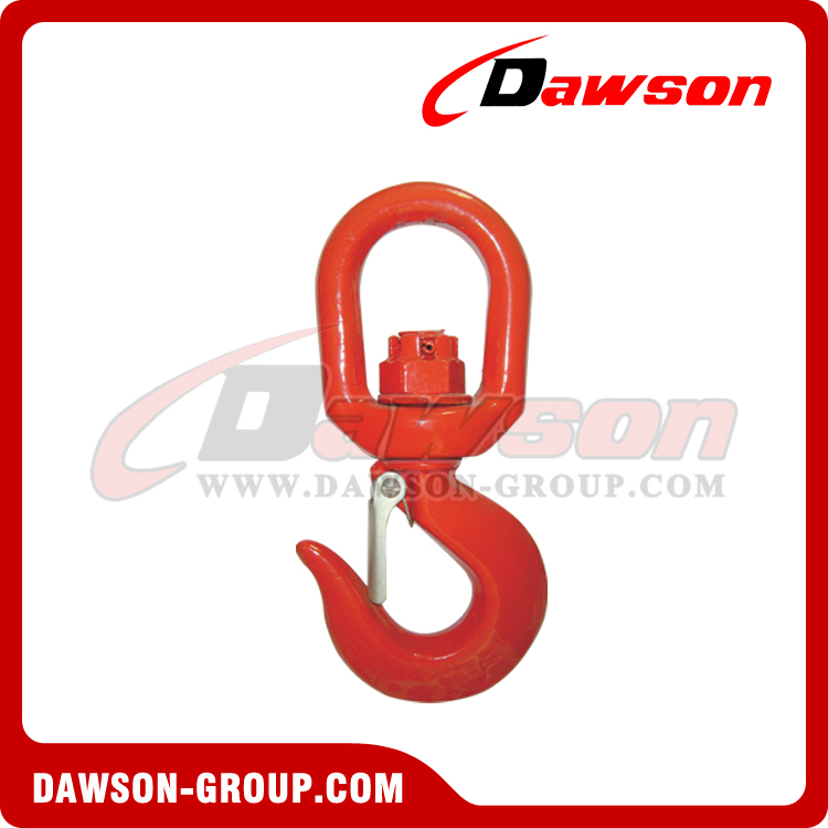 DS040 G80 SWIVEL HOOK WITH LATCH - DAWSON GROUP LTD. - CHINA MANUFACTURER SUPPLIER