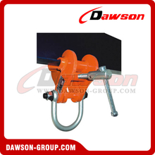 DS-BCL Heavy Duty Beam Trolley Clamp with Fixed Jaw & Fitting Shackle