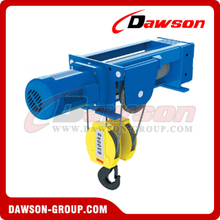 Foot-Mounted Electric Wire Rope Hoist DSWHF-C (4/1 Rope Reeving)