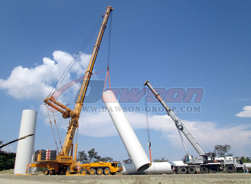 China Dawson Group application of polyester round sling supplier, Factory