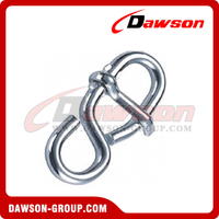Rope Shortening 8-Shaped With Tongue Zinc Plated