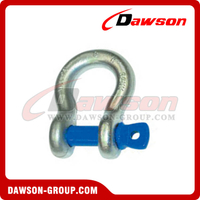 AS2741 Forged Alloy Grade S Bow Shackle With Screw Pin