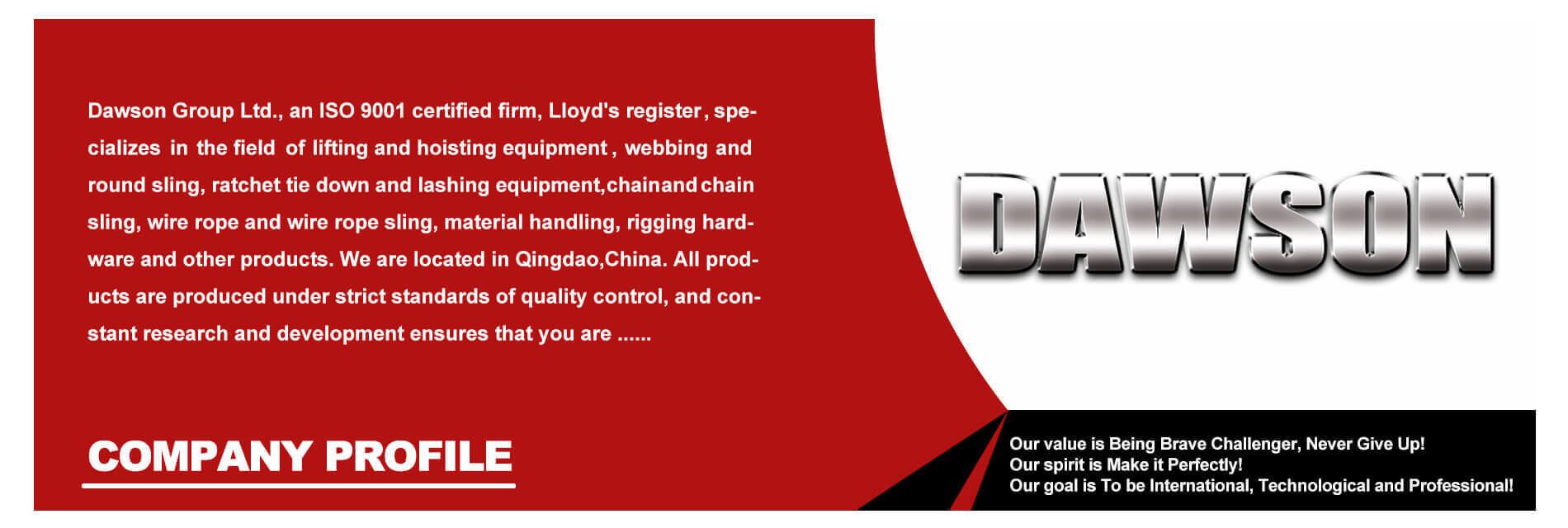 China Manufacturer Supplier of Cargo Lashing, Rigging