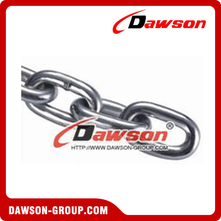 Stainless Steel DIN5685A Short Link Chain, Stainless Steel