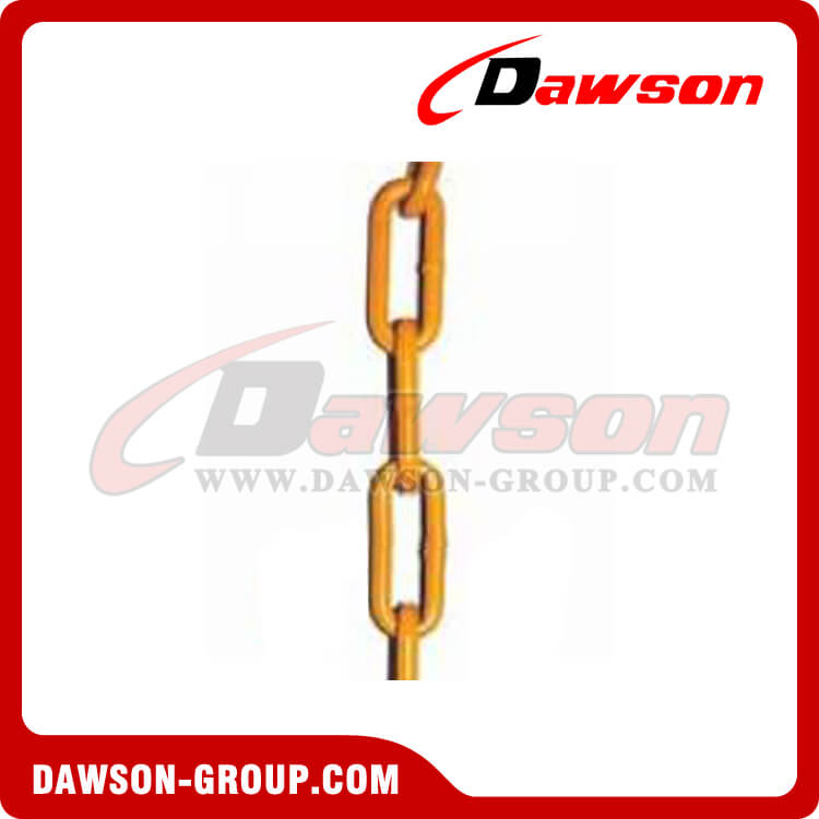 Grade 80 Alloy Lashing Chain / G80 Welded Long Link Chain for Cargo Lashing