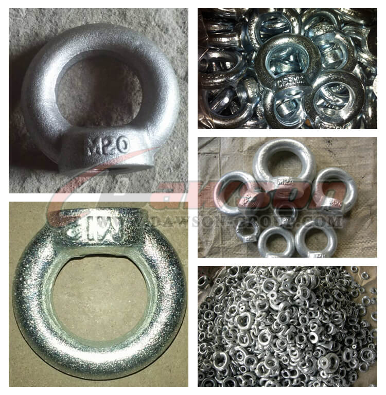 DIN 582 Galvanized Eye Nuts Lifting Ring Nut - Dawson Group Ltd. - China Manufacturer, Supplier, Factory