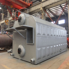 Large Industrial Chain Grate Double Drum Coal Fired Industrial Steam Boiler