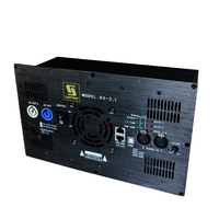 D3-2.1 Stereo Plate Amplifier with DSP for 2.1 channel Home Theater System