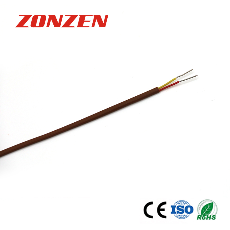 FEP insulated thermocouple wire--Single pair, flat