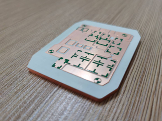 3.0mm aluminum PCB 10oZ copper TC8W semiconductor