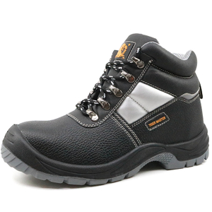 Slip Resistant S3 SRC Water Proof Anti Static Construction Site Safety Boots Steel Toe Cap