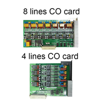 Excelltel PABX 4/8 lines CO card for TP1680 and TP16120