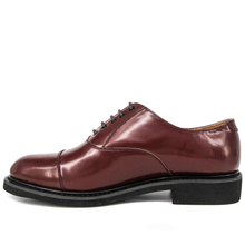 Maroon oxford minimalist office shoes 1213