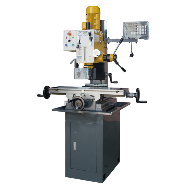 "ZAY7045FG 31 1/2"" X 9 1/2"" Gear Drive Milling Machine W. X Axis Power Feeder & 3 Axis DRO"