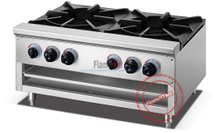 HGR-2 double head gas hot pot range double gas stove