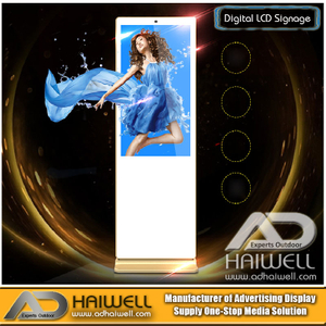 Touch LCD Screen Digital Signage Advertising Solutions