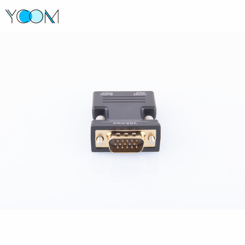 VGA Male To HDMI Female Cable Adapter Converter