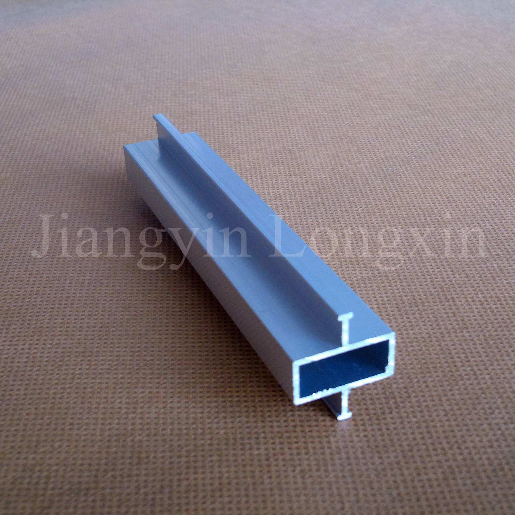 Silver Anodized Aluminum Profile for Connection