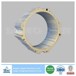 Silver Anodized Aluminium Extrusion for Heatsink