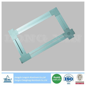 Aluminium Profile for Ceiling System with Connection Parts
