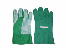PVC Dotted Cotton Knitted Working Gloves