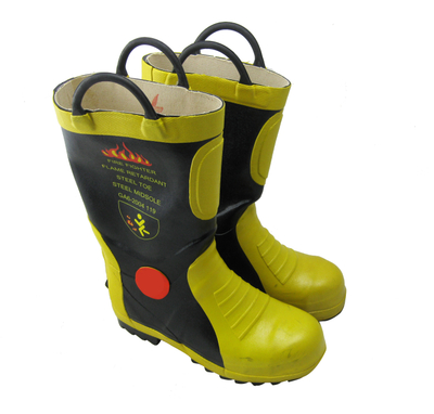 Firemen Fire fighting rubber boots