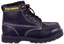 97130 oil full grain goodyear welted boots with steel toe