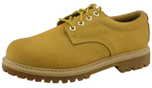 Nubuck leather safety shoes