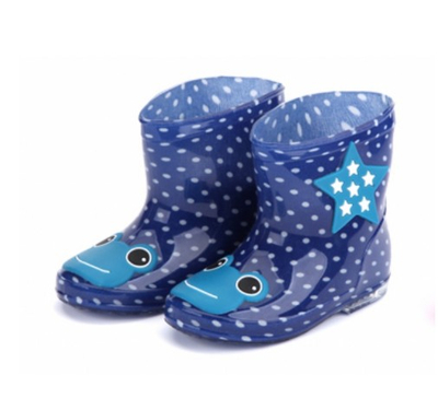 666-4 waterproof cute girls rain boots