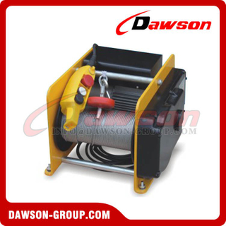 250kg 500kg Electric Wire Rope Windlass, Light Duty Electric Lifting Winches