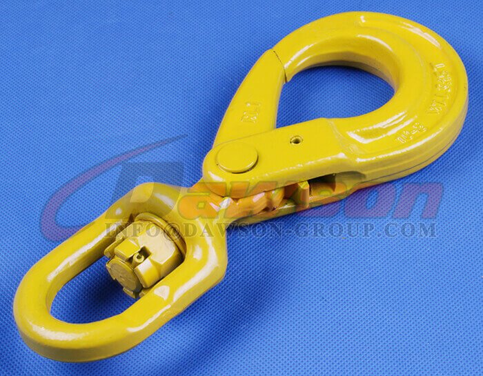 Grade 80 G80 Swivel Selflock Hook With Bearing for Lifting
